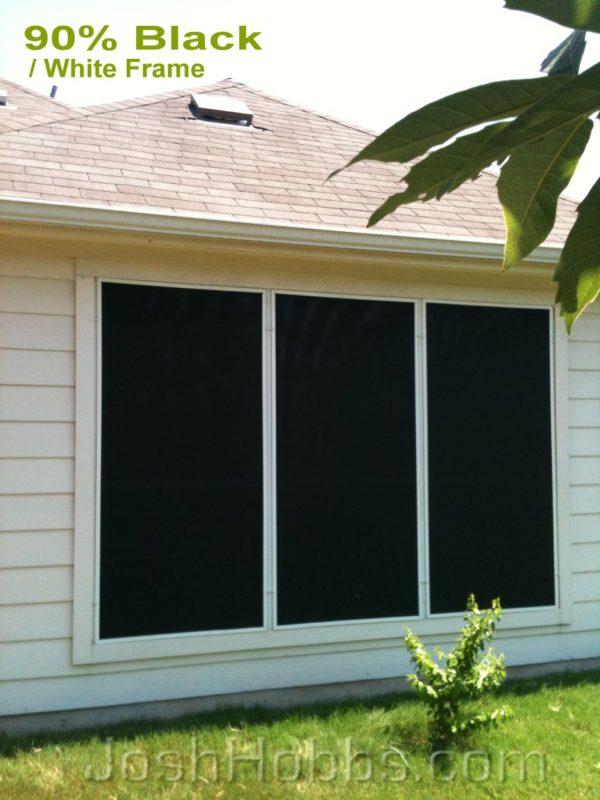 Georgetown Texas Sunshades For Windows Solar Screens By
