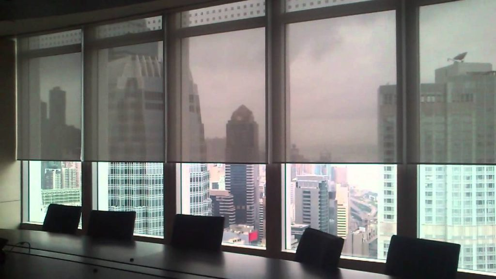 Our window shades for office windows are universally used to provide shade for office windows.
