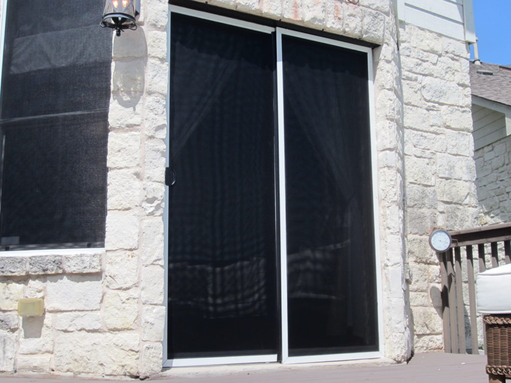 We Can Make A Solar Screen Sliding Door And Sliding Screen Door Pocket To  Shade Most Sliding Doors. I Say Most Because I Have Seen Some Crazy Triple  Sliding ...