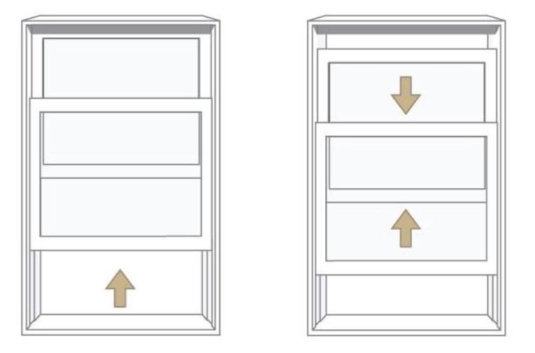 Double hung window example