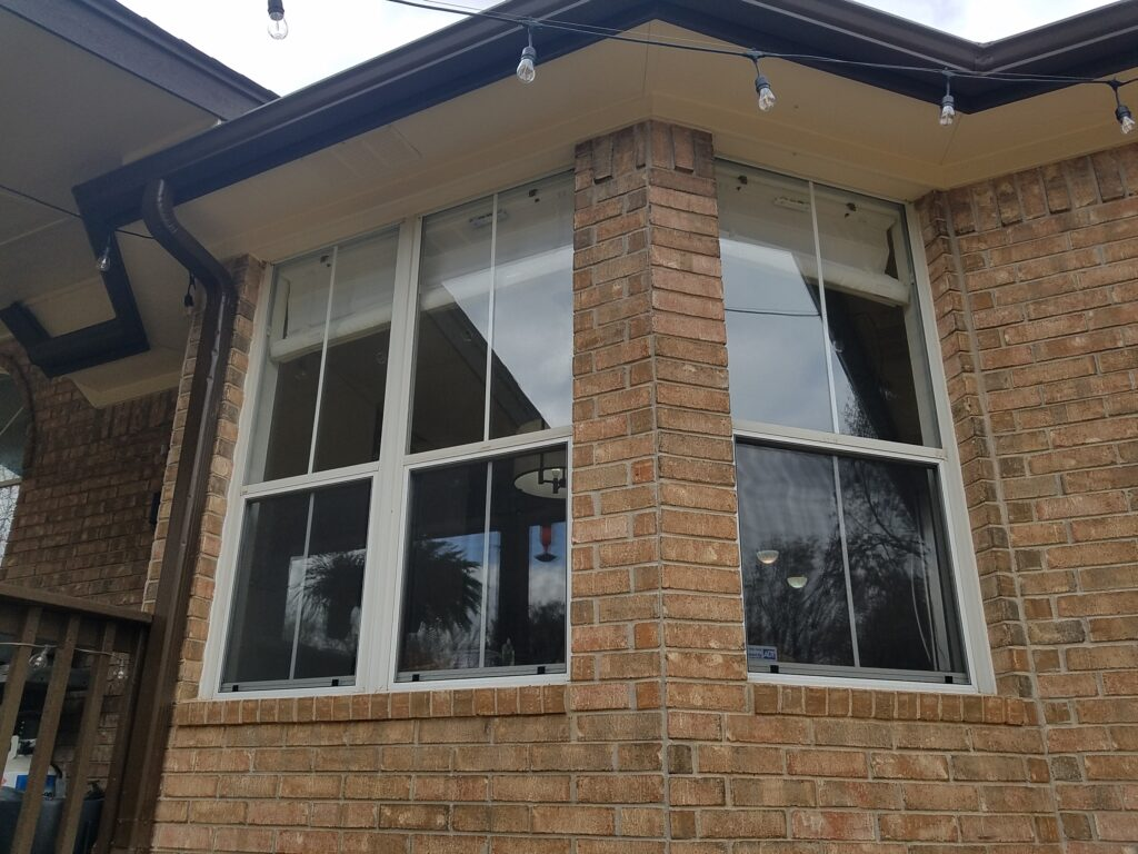 Replacement window screens for 3 windows